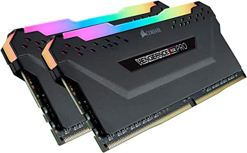 Corsair Vengeance RGB Pro 16GB (2x8GB) 3600MHz C18 - schwarz