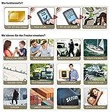 Incutex GPS Tracker TK104 Peilsender Personen und Fahrzeugortung GPS Sender mit KFZ-Ladekabel Autoladekabel Version 2017 - 6