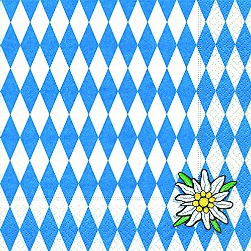 40-lunch-bayern-blanc-bleu-bavaria-1-4-feuille-3-plis-dimensions-ouvert-33-x-33