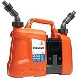 Husqvarna Kombikanister zwischen Kraftstoff und Öl abgestimmt 5 l 2.5 l