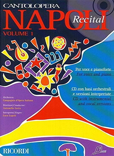 Cantolopera Volume 1 :Napoli recital +CD - Cht/Po