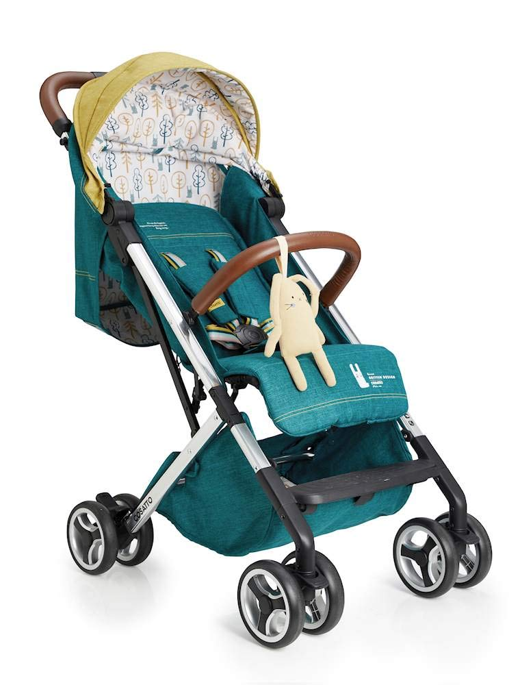 Cosatto Woosh XL Pushchair, Suitable from Birth to 25 kg, Hop to It Cosatto Compact from-birth pushchair. carries up to 25kg child, so you can use it for longer. Hands full? it's lightweight with one-hand fold into compact bundle. easy to store. It can even carry dock 0+ car seat (sold sep) just pop onto the adaptors (sold sep). 1