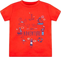 Mothercare Baby Boys' Plain Regular Fit T-Shirt