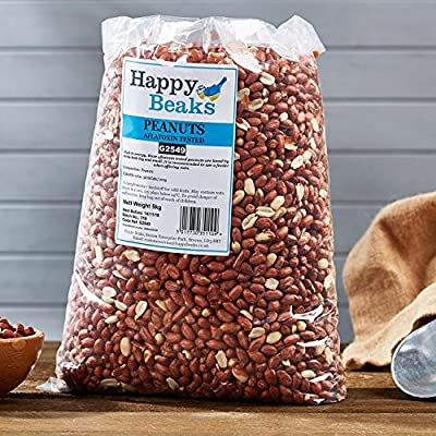 Happy Beaks Bird Peanuts Premium Grade Wild Bird Food Aflatoxin Tested from Happy Beaks