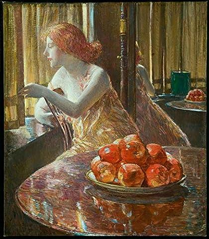 The Museum Outlet–La réflexion (Kitty Hughes), 1917–Canvas Print Online Buy (152,4x 203,2cm)