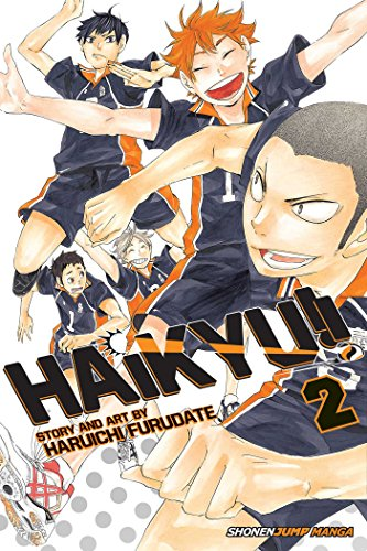 Haikyu!!, Vol. 2 Cover Image