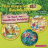 Im Reich der unendlichen Gefahren: Auf der Fährte der Indianer / Im Reich des Tigers / Rettung in der Wildnis : 3 CDs (Das magische Baumhaus)