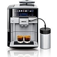 Siemens EQ.6 plus s700 Kaffeevollautomat TE657M03DE, automatische Reinigung, Direktwahl, zwei Tassen gleichzeitig, 1.500…