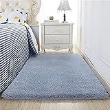 Dicke Waschbare Teppich Berber Fleece Fußmatten für Wohn-/Schlafzimmer Kaffeetisch absorbierende Schnell Trocknende Teppich Anpassbare Indoor Fußmatten, 11 Farben