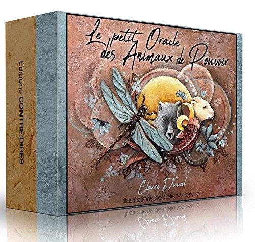 Petit Oracle des Animaux de Pouvoir (le) par Duval Claire;Illustrations de Célia Melesville