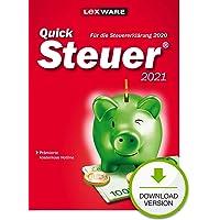 Lexware QuickSteuer 2021 Download für das Steuerjahr 2020 | Standard | PC | PC Aktivierungscode per Email