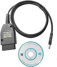 Vagcom 17.1.3, Hex + Can USB Interface Auto, Fault Diagnose Draht (Deutsch/Englisch)