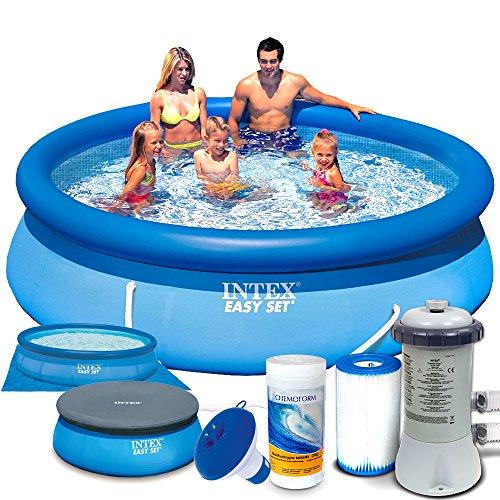 Set 7in1 Quick up Pool Intex 28122 Ø 305 x 76cm