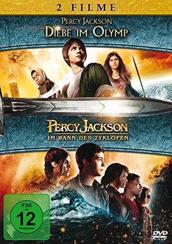 Bild von Percy Jackson - Diebe im Olymp/Percy Jackson - Im Bann des Zyklopen [2 DVDs]