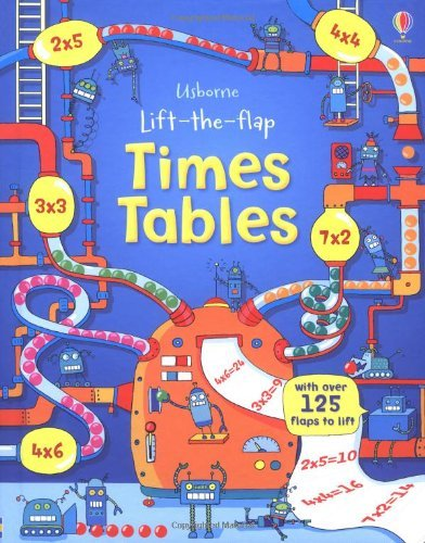 Lift the Flap Times Tables Book (Usborne Lift-the-Flap-Books) by Rosie Dickins (January 1, 2014) Hardcover