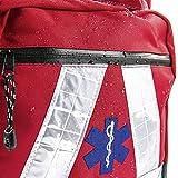 Sac à dos de sauvetage BMS nécessaire médical d'urgence, rot, wasserdicht, 1