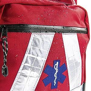 Basic Medical Supply BMS-2S 135228salvavidas Mochila Impermeable, color rojo