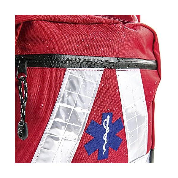 614%2Bro0Lo1L. SS600  - Basic Medical Supply BMS-2S 135228salvavidas Mochila Impermeable, color rojo
