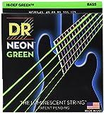 Dr Strings Neon Grün Bass Gitarre Saiten 45–125Jeu de
