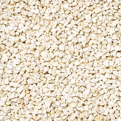 Dekogranulat /Dekosteine (2-3mm) creme, 2 kg im Beutel
