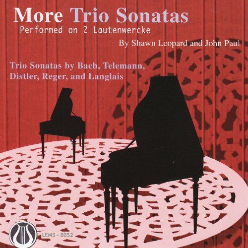 More Trio Sonatas Performed On 2 Lautenwercke