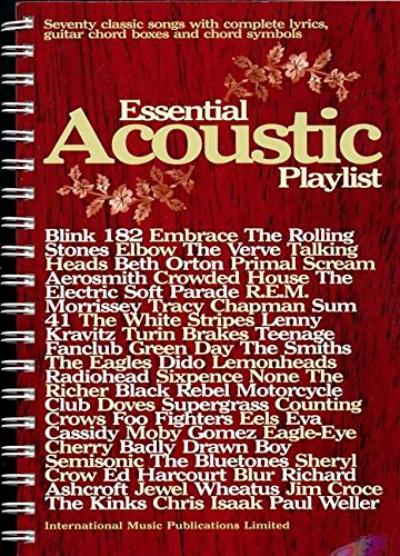 essential-acoustic-playlist-guitar-chord-songbook