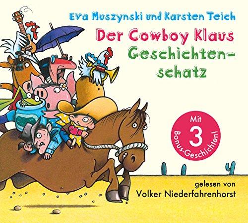 Der Cowboy Klaus Geschichtenschatz: Alle 12 Abenteuer (Kuh Western Cowboy)