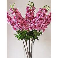 fiori artificiali, Seta / Plastica Delphinium Fiori Artificiali , rose - Delphinium Vaso