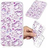 Coque Huawei Honor 6a, Etui Huawei Honor 6a Étui TPU Silicone Souple Coque ,Cozy Hut Housse étui Flexible protection en TPU Silicone Shell Housse Coque étui creux Slim Case Cover Cuir Etui Housse de Protection Coque Étui Huawei Honor 6a - Cheval Bobby