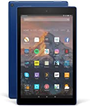 Certified Refurbished Fire HD 10 Tablet, 1080p Full HD Display, 64 GB, Marine Blue – with Special Offers (Previous Generation - 7th)