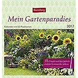 Mein Gartenparadies - Kalender 2017: Kalender mit 53 Postkarten