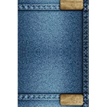 Journal Your Life's Journey: Denim Background, Lined Journal, 6 x 9, 100 Pages