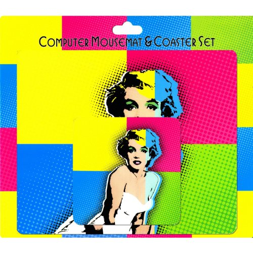 Preisvergleich Produktbild Pop Art Marilyn Monroe (&mouse pad Mauspad Untersetzer