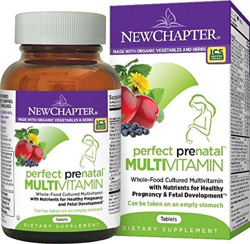Preisvergleich Produktbild New Chapter Perfect Prenatal Nahrungsergänzung in der Schwangerschaft 192 Tabletten