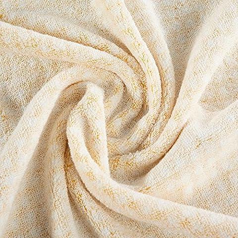 toalla de plazas ajardinadas/ toalla de baño de algodón puro pecho femenino adulto/Niños piel absorbente de toallas extra grande-B