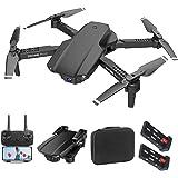 Drone Avec Caméra 4K HD Wifi APP Quadricoptère Temps De Vol 40 Minutes 2Batteries Double Caméra Zoom 50X Induction De Gravité