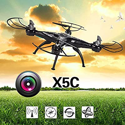 Beautyrain RC Drone with FPV HD Wifi Camera Live Feed 2.4GHz 4CH 6-Axis Gyro Quadcopter