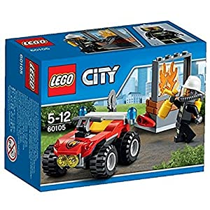 LEGO- City ATV dei Pompieri, Colore Non specificato, 60105 11 spesavip