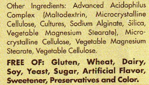 614 Go4TPjL - Solgar Acidophilus Integratore Alimentare di Fermenti Lattici - 50 Capsule Vegetali