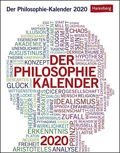 Der Philosophie-Kalender Kalender 2020