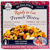 St Dalfour French Bistro | Three Beans with Sweetcorn | 2 x 175g