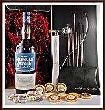 Geschenk Set Talisker Distillers Edition Whisky mit Flaschenportionierer + 10 Edel Schokoladen von DreiMeister & DaJa + 4 Whisky Fudge, kostenloser Versand
