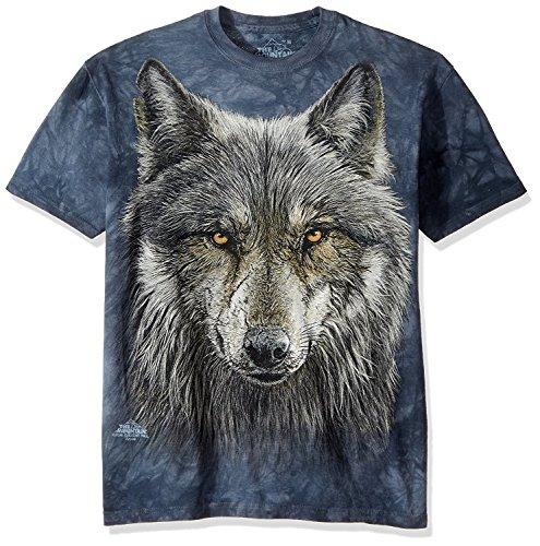 The Mountain Herren T-Shirt Warrior Wolf - - XX-Large