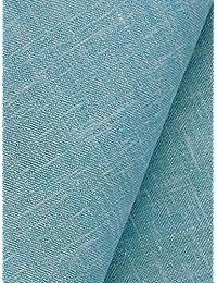 KUNDAN SULZ GWALIOR Men's Linen Shirt Fabric Light Blue_2.25m
