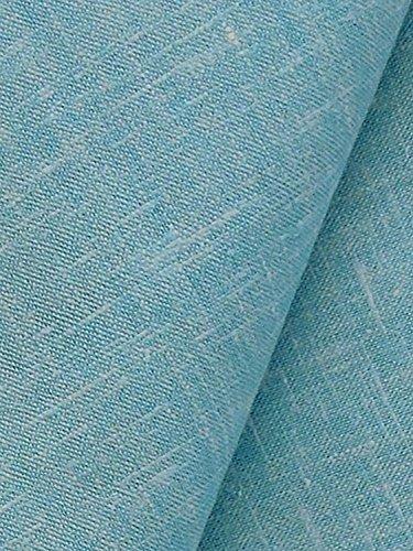 Kundan Gwalior Linen Blended Fabric For Shirt / Short Kurta (LIGHT BLUE)  available at amazon for Rs.229