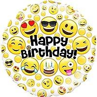 """Emoji Birthday Balloon 18"""""""