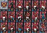 Picture Of MATCH ATTAX 2018/19 18/19 WEST HAM UTD FULL 18 CARD TEAM SET