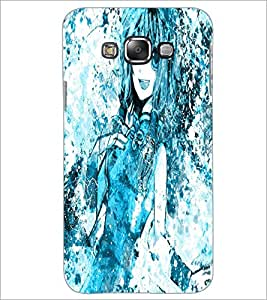 PrintDhaba Cute Girl D-2821 Back Case Cover for SAMSUNG GALAXY GRAND 3 (Multi-Coloured)