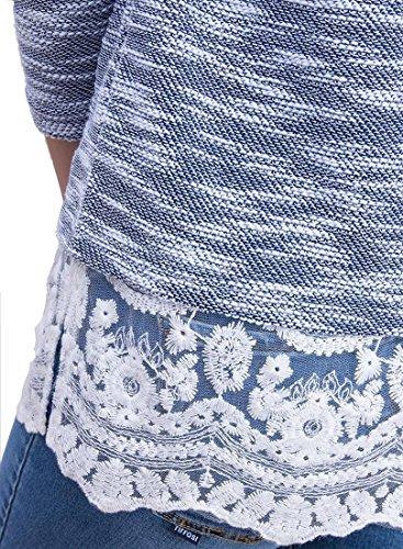 Tiffosi - Sweat-shirt - Femme Bleu