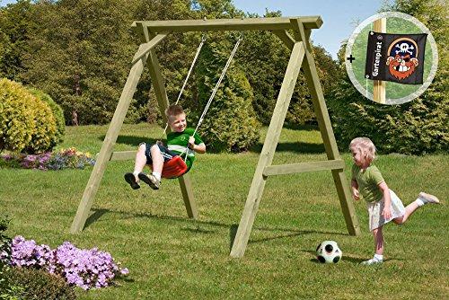 Gartenpirat-Schaukel-Holz-Einzelschaukel-Premium-Typ-11-aus-Kreuz-Holz